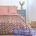 Постельное белье Этель Мягкие сны, розовый