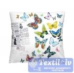 Декоративная подушка Волшебная Ночь Бабочки
