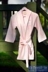 Халат детский с капюшоном Pupilla Young, розовый