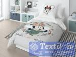 Детское постельное белье Disney Mickey gray