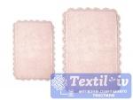 Набор ковриков для ванной Irya Serra Pembe, розовый