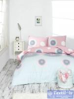 Постельное белье Altinbasak Orleon, розовый
