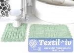 Набор ковриков для ванной Modalin Ancor, ментол