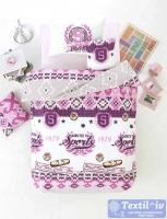 Детское постельное белье Altinbasak Athletic, фиолетовый