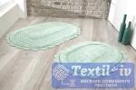 Набор ковриков для ванной Modalin Lokal, ментол