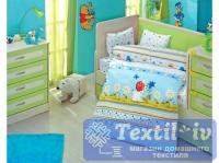 Постельное белье для новорожденных Altinbasak Gulucuk, голубой