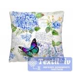 Декоративная подушка Волшебная Ночь Летний сад