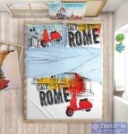 Постельное белье Love Me Holliday in Rome