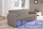 Чехол на 3-х местный диван Karna Verona, коричневый