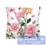 Декоративная подушка Волшебная Ночь Эйфелева башня