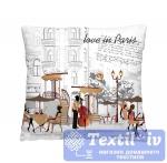 Декоративная подушка Волшебная Ночь С любовью из Парижа
