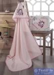 Полотенце-конверт детское Karna Bambino Samalot, розовый