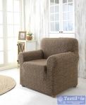 Чехол на кресло Karna Milano, коричневый