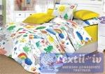 Детское постельное белье Valtery Радуга