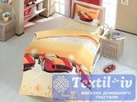 Детское постельное белье Altinbasak Speed Time, красный