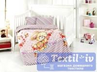 Постельное белье для новорожденных Altinbasak Pamuk, розовый