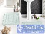 Набор ковриков для ванной Modalin Evora, светло-зеленый