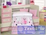 Постельное белье для новорожденных Altinbasak Ayicik, розовый
