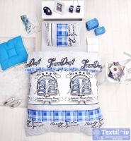 Детское постельное белье Altinbasak Molly, голубой