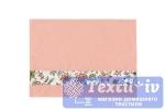 Полотенце Aquarelle Цветы вид 2, розово-персиковый