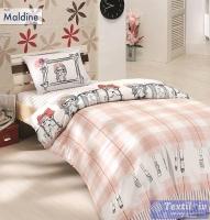 Детское постельное белье Altinbasak Maldine, розовый