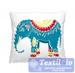 Декоративная подушка Волшебная Ночь Индийский слон