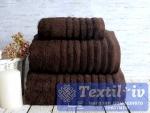 Полотенце Irya Wella Kahve, темно коричневый