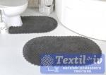 Набор ковриков для ванной Modalin Prior, темно-серый