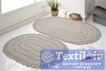 Набор ковриков для ванной Modalin Yana, экрю